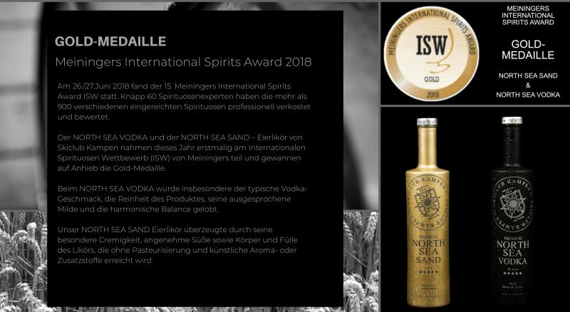 Cocktails Spirits Award 2018