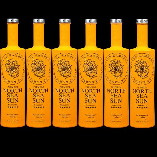 Flaschendisplay North Sea Sun 0,7 l sortenrein