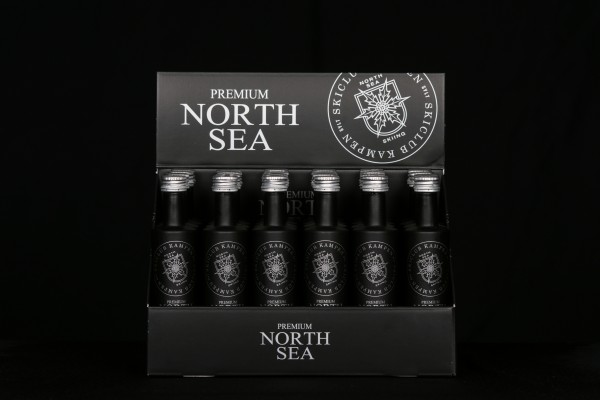 2x24er Karton North Sea Vodka 0,05l Miniflaschen