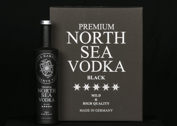 6er Karton North Sea Vodka 0,7l