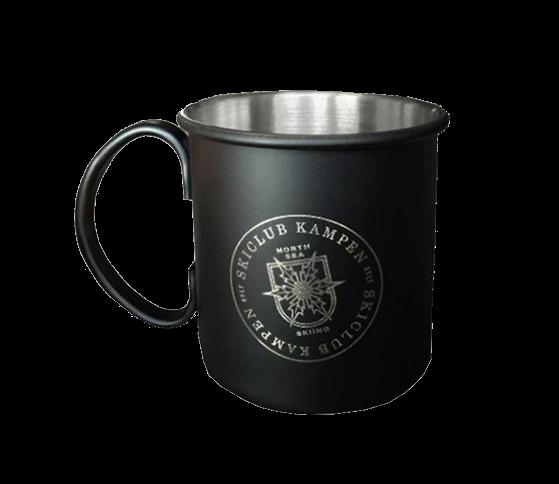 North Sea Mug-versilbert