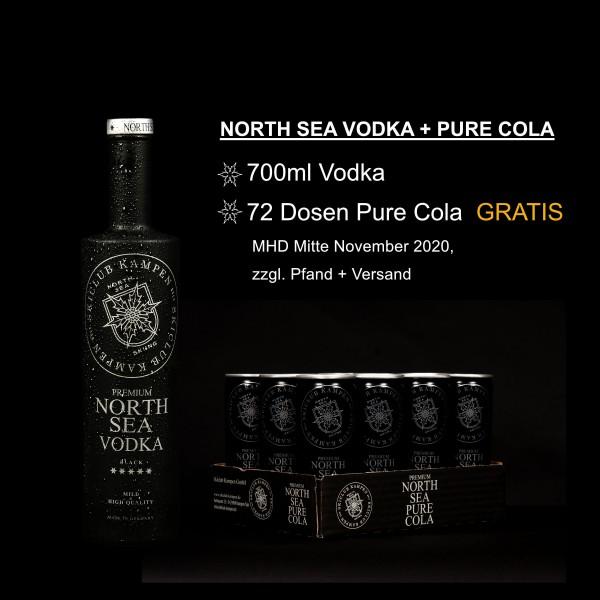 """North Sea Set Vodka Cola - AKTION """"After the Summer"""""""
