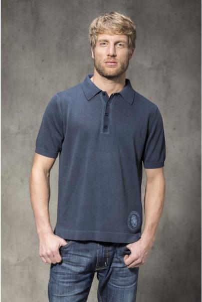 Polo Shirt Kurzarm marine