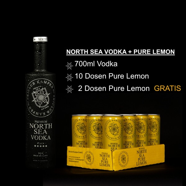 North Sea Set Vodka Lemon