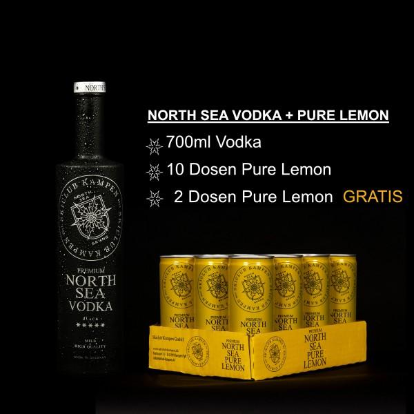 North Sea Set Vodka Lemon
