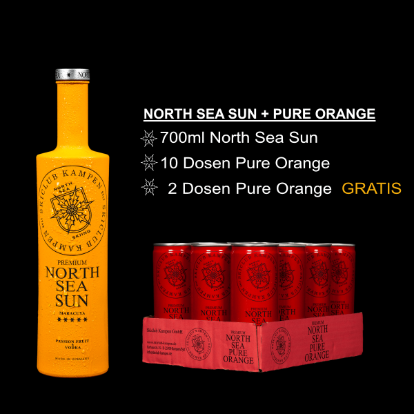 North Sea Set Sun Orange