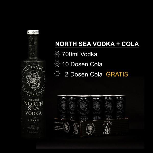 North Sea Set Vodka Cola