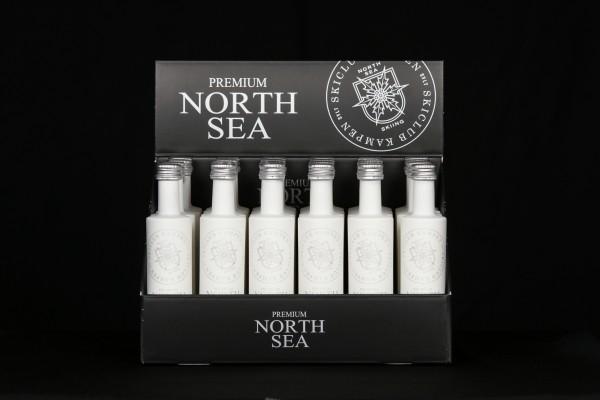 2x24er Karton North Sea Gin 0,05l Miniflaschen