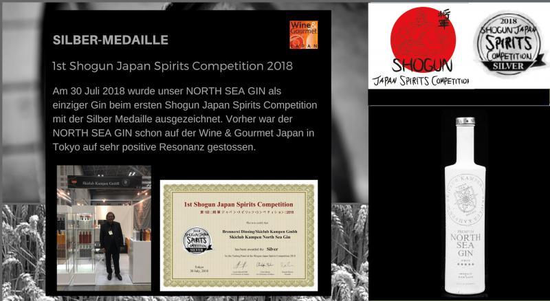 Shogun Spirits Competition Japan Tokyo